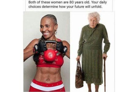 Αυτές οι κυρίες είναι και οι δυο 80 ετών!